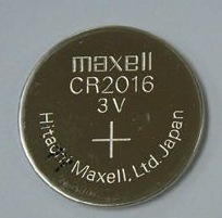 CR 2016 Maxell 3 V Lithium coin, Cell button Battery