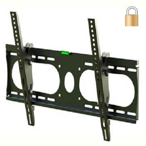 "Flat TV Mount 32 TO 50"" Lockable Tilt Slim Type - Click Image to Close"