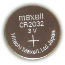 CR 2032 Maxell 3 V Lithium coin, Cell button Battery - Click Image to Close