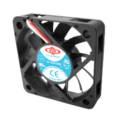 Case / CPU fan 50X50X15 mm Dbl. ball brearing 3 pin power connec