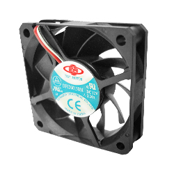 Case / CPU fan 60X60X15 mm Dbl. ball brearing 3 pin power connec - Click Image to Close
