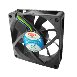 Case / CPU fan 70X70X15 mm Dbl. ball brearing 3 pin power connec