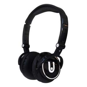 High Definition Foldable Digital Headphone Black - Click Image to Close