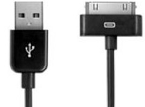 IPhone4 Sync. and charge cord 3 Ft. Black USb to 30 pin