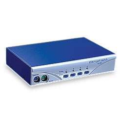 KVM 4 port PS/2