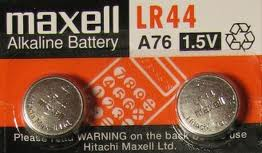 LR 44 Maxell (AG13) watch battery Alkaline 1.5 V