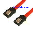 SATA cable with clips 20""