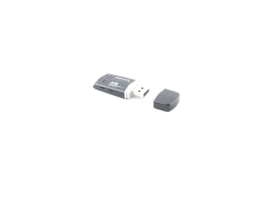 WIRELESS 802.11N USB 2.0 ADAPTER, PC/MAC/LINUX